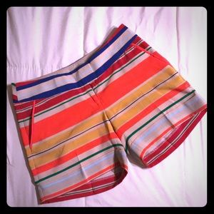 NWOT The Limited Striped Shorts
